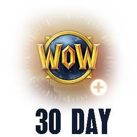 گیم تایم 30 روزه WOW اروپا EU