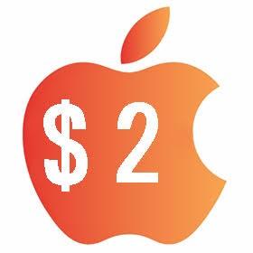 آیتونز گیفت کارت 2 دلاری آمریکا