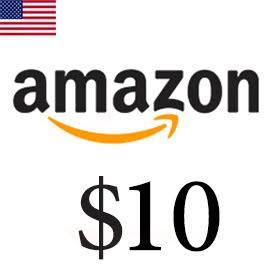 گیفت کارت 10 دلاری آمازون امریکا
