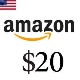 گیفت کارت 20 دلاری آمازون امریکا