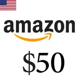 گیفت کارت 50 دلاری آمازون امریکا