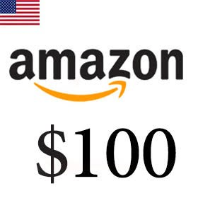 گیفت کارت 100 دلاری آمازون امریکا