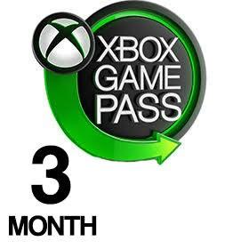 Xbox Game Pass سه ماهه