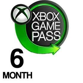 Xbox Game Pass شش ماهه